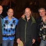 mit Jens Kommnick, Eric Lugosch und Herbert Wegener (13. Göttinger Gitarrennacht 2015)