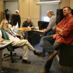 im NDR Studio mit Klaus Weilamnd und Front Porch Picking